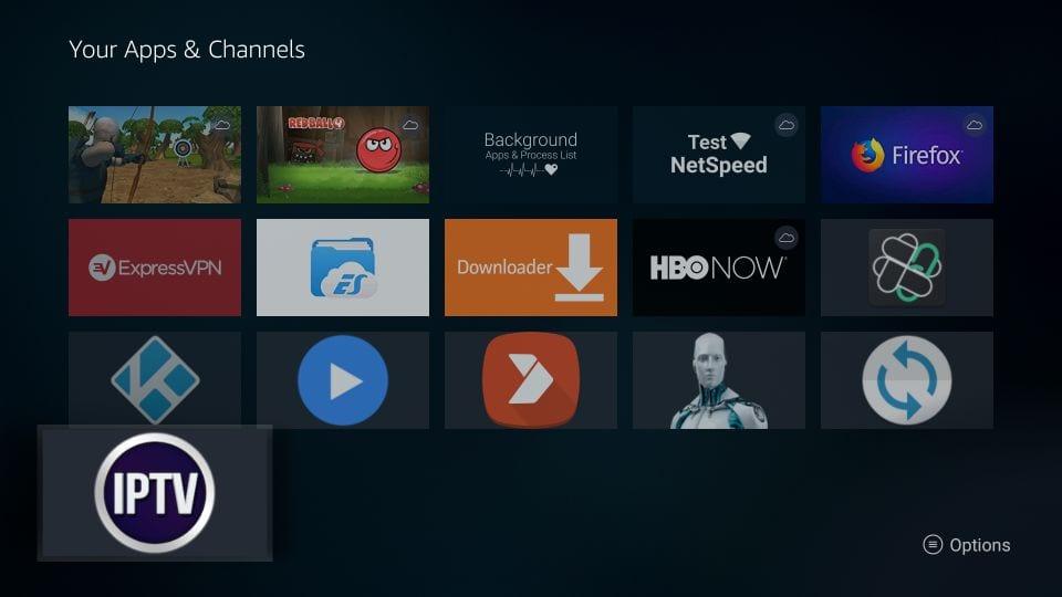 download gse smart iptv on Firestick