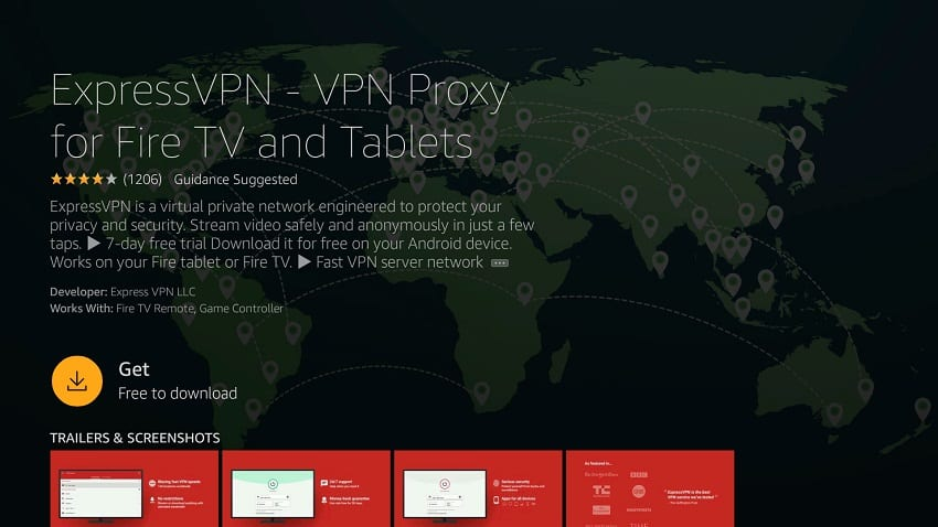 ExpressVPN untuk Amazon Fire tv stick