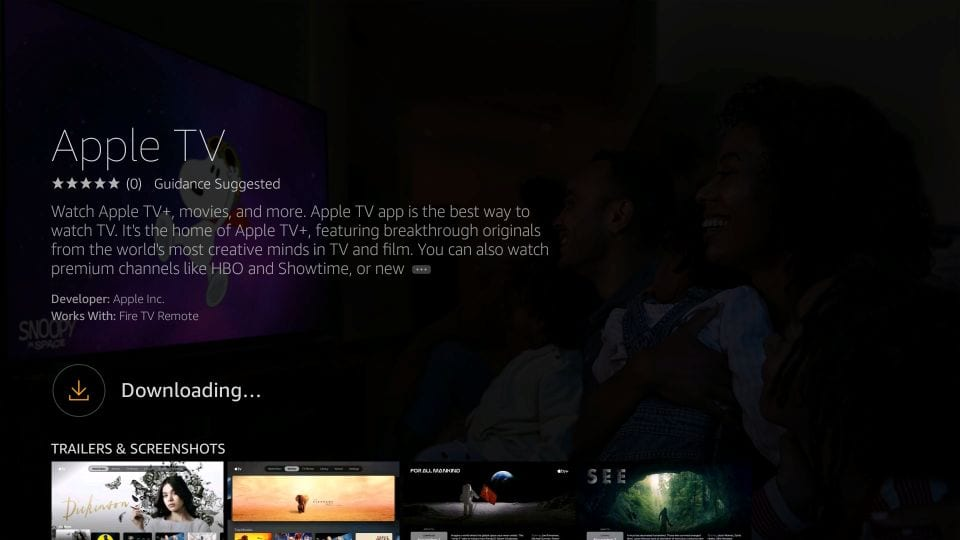 aplicativo de tv da apple
