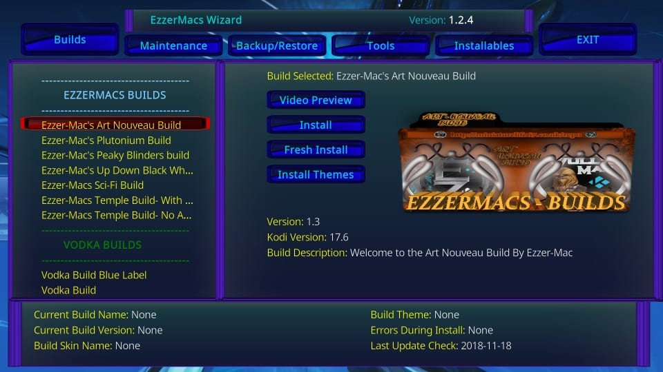 ezzermac kodi build