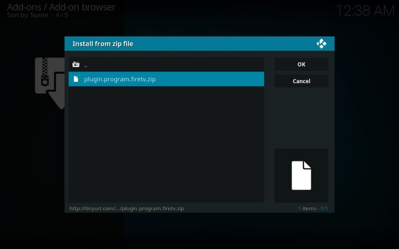 installer fire tv guru wizard addon