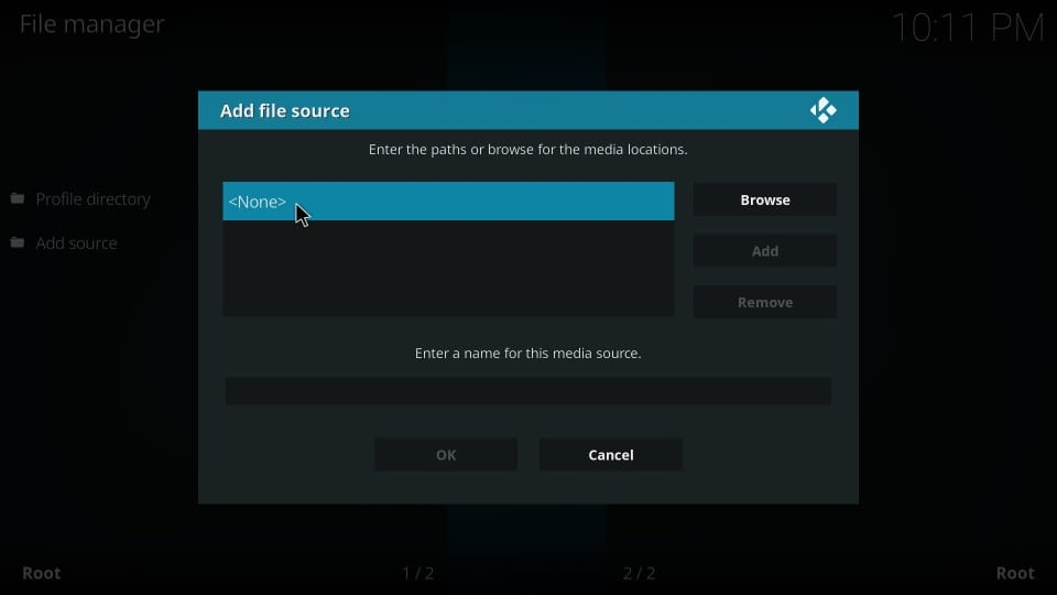 Gaia Kodi-add-on