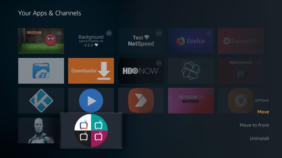 kako namestiti helix tv iptv na Firestick