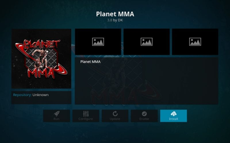 how to install planet mma kodi addon for watching live wwe fights