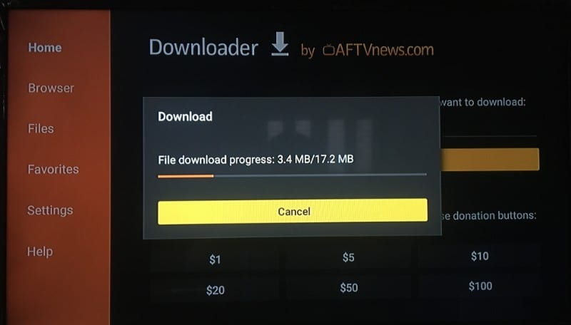 download set tv firestick app