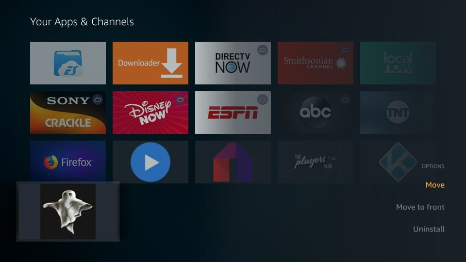 how to use Silent Ghost HD on Fire Stick