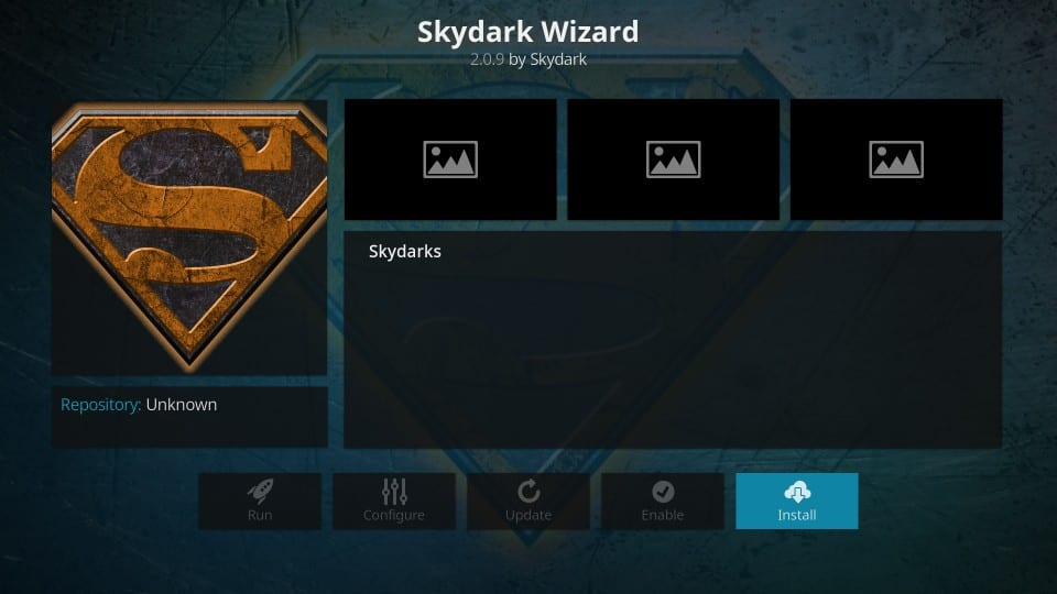 skydark kodi build