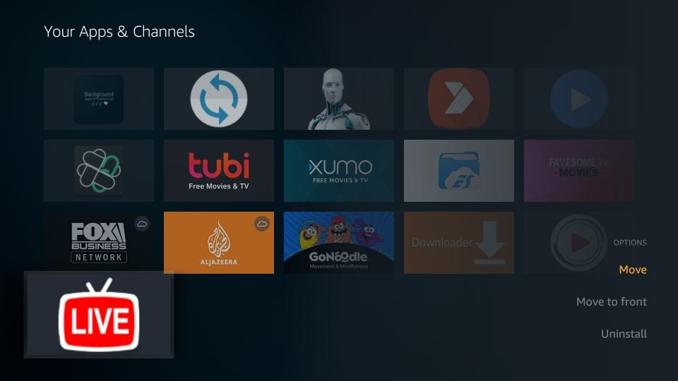 YouTube-tv för Firestick