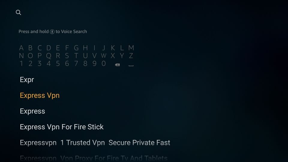 search expressvpn